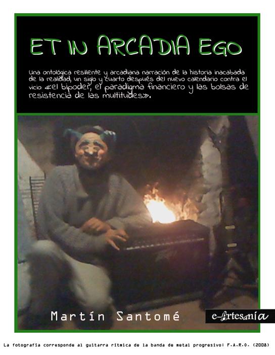 Portada: Et in arcadia ego. Trilogía de la bestia telúrica. Martín Santomé. E-artesania.