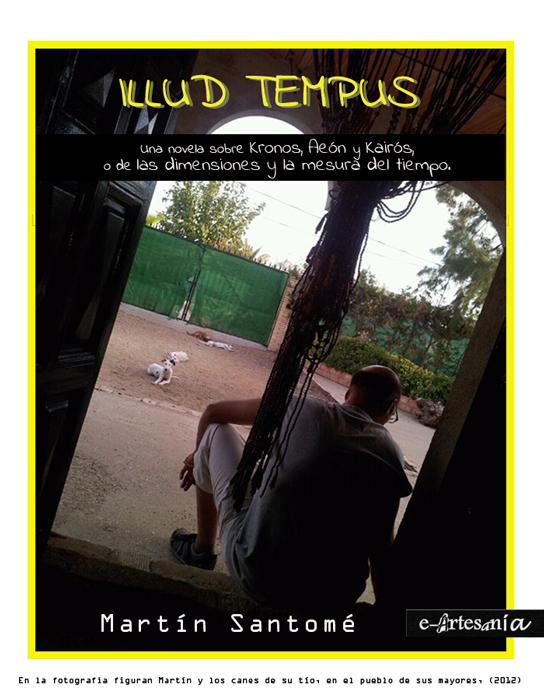 Portada: Illud Tempus. Trilogía de la bestia telúrica. Martín Santomé. E-artesania.